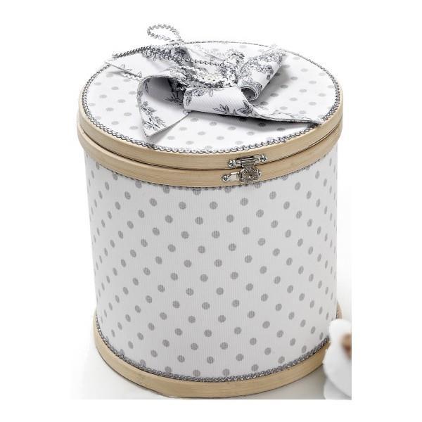 df5612a91e9 Artemaxima Collections-Βαπτιστικό Κουτί Τελάρο Λευκό Πουά με Ανεμόμυλο ΝΕΑ  ΑΦΙΞΗ 2018-Arte Maxima Collection